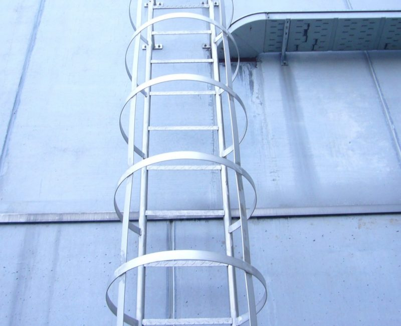 scala alla marinara zincata a caldo
