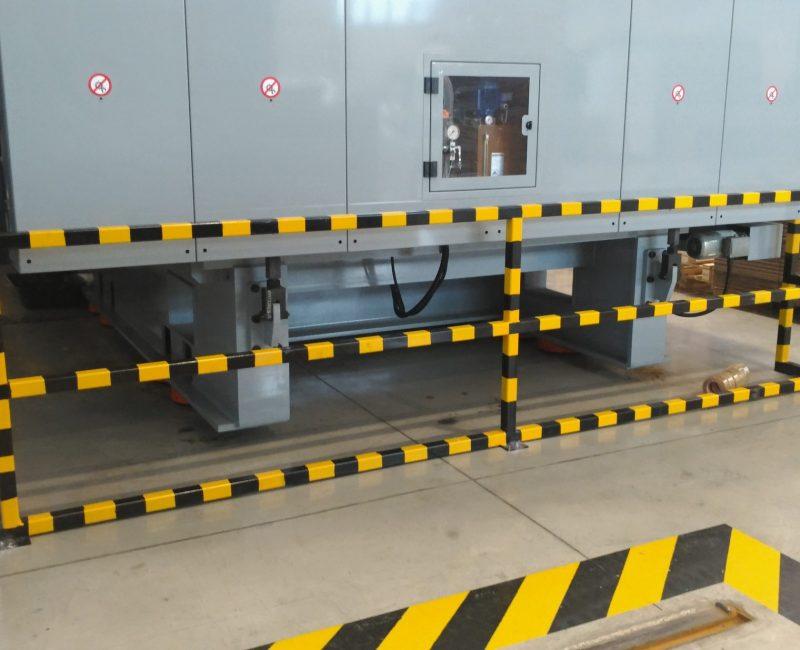 protezione macchine in tubolare